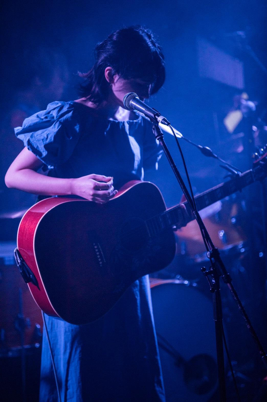 世田谷区三軒茶屋Miyakoda guitar schoolボイストレーニング、ボーカル担当講師の実咲